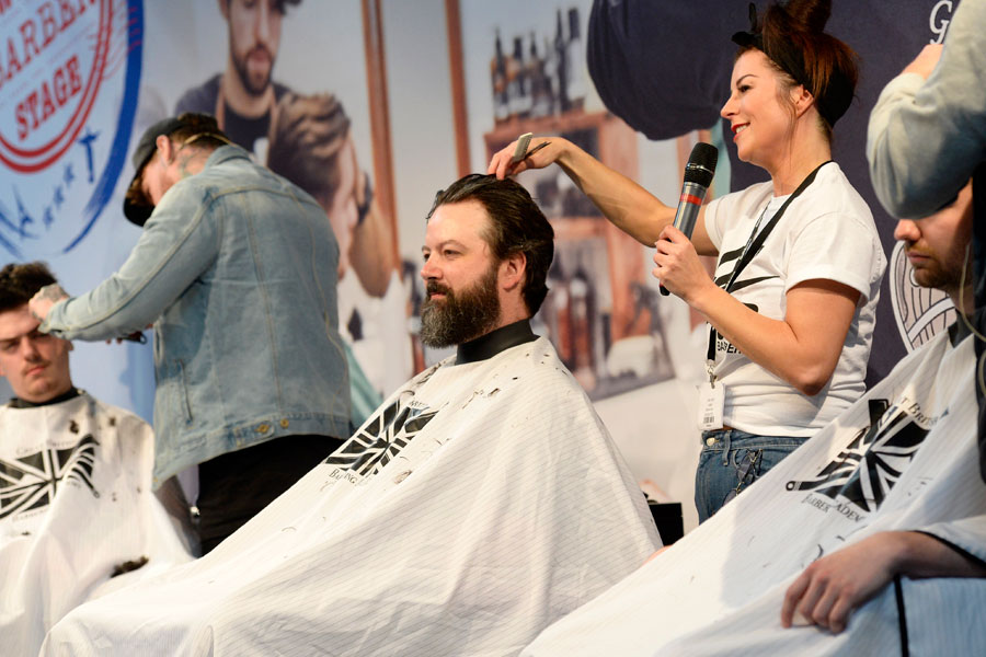 Salon owners' business forum barber